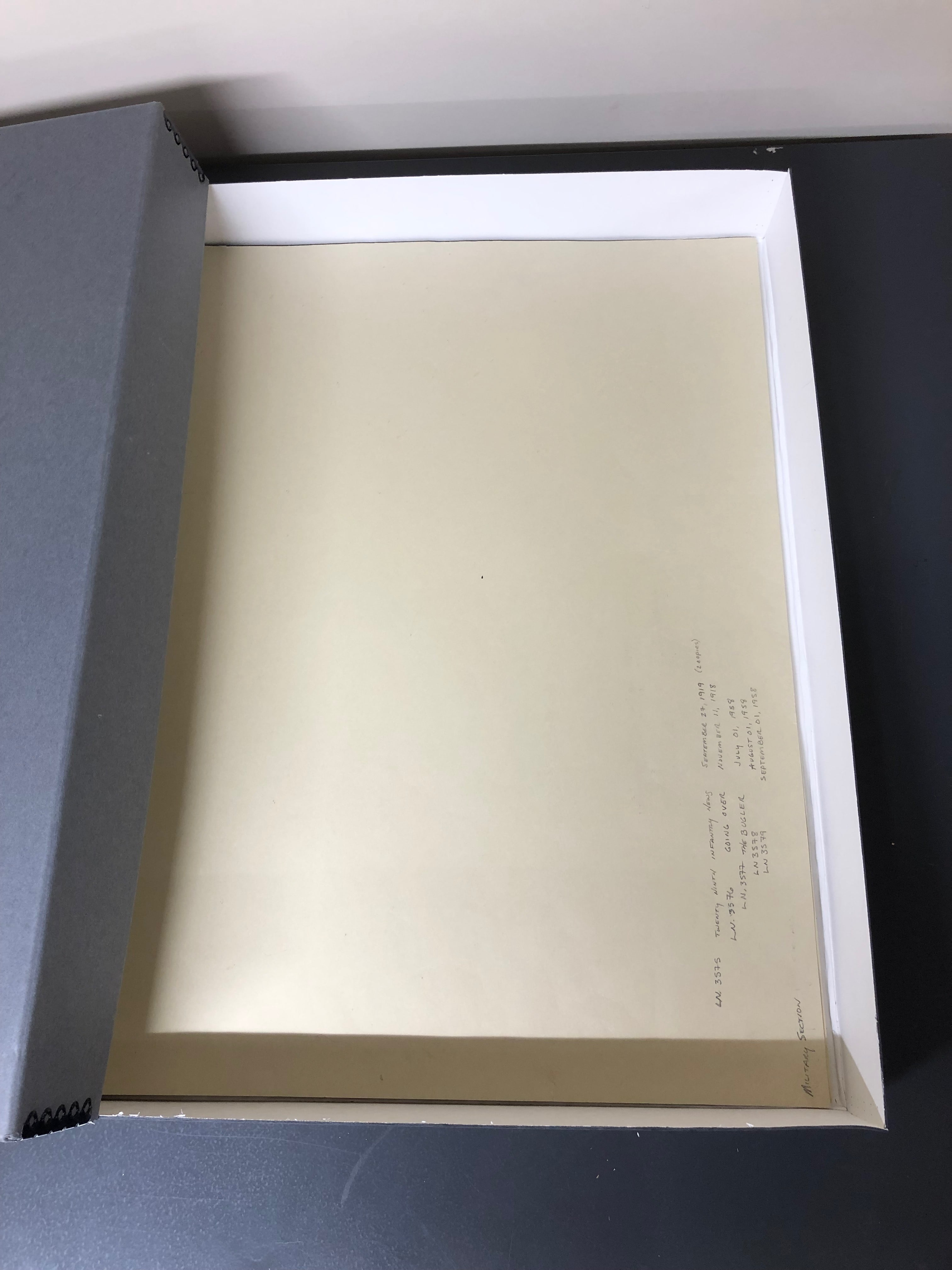 Gaylord Archival Deep Lid Print//Photo Preservation Box